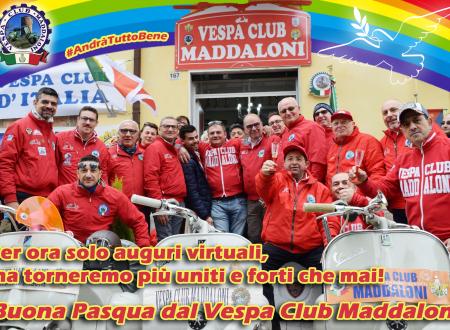 Buona Pasqua 2020 dal Vespa Club Maddaloni!