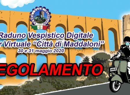 """1° Raduno Vespistico Digitale & Tour Virtuale """"Città di Maddaloni"""": REGOLAMENTO"""